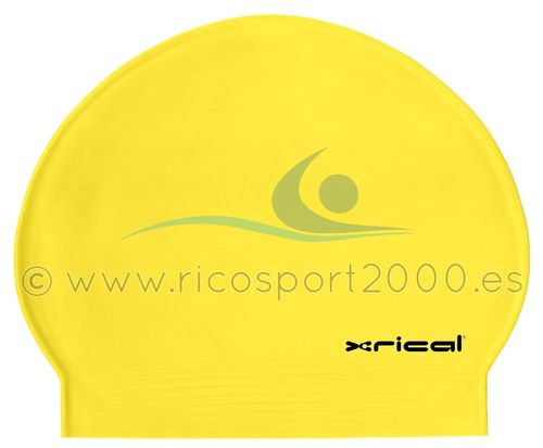 GORRO LATEX XRICAL AMARILLO