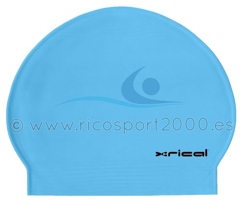 GORRO LATEX XRICAL AZUL CELESTE